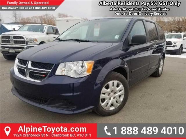 2015 Dodge Grand Caravan SE/SXT (Stk: X749859A) in Cranbrook - Image 1 of 15
