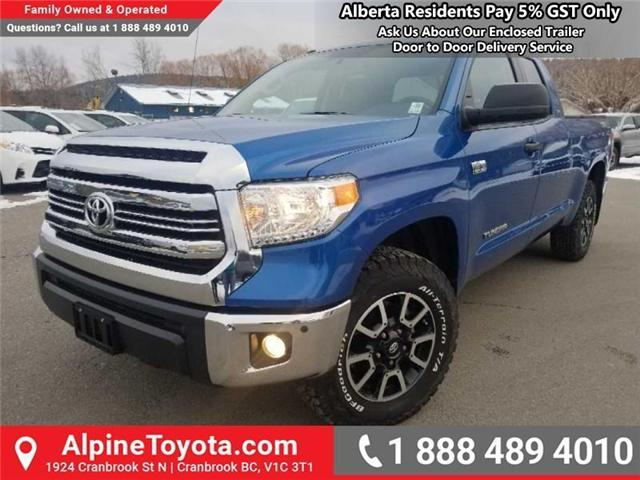 2016 Toyota Tundra  (Stk: X550474R) in Cranbrook - Image 1 of 17