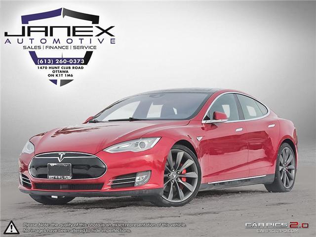 2016 Tesla Model S Ludicrous mode P90D (Stk: 18830 - 4 FOBS in FILE ) in Ottawa - Image 1 of 27