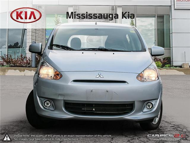 2014 Mitsubishi Mirage ES (Stk: FR19027T) in Mississauga - Image 2 of 26