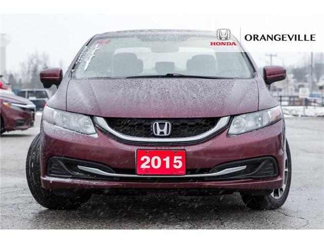 2015 Honda Civic EX (Stk: F18378A) in Orangeville - Image 2 of 22