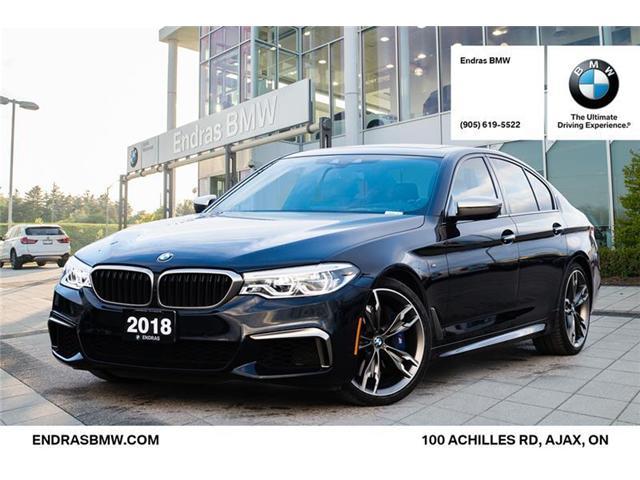 2018 BMW M550i xDrive (Stk: 40877A) in Ajax - Image 1 of 22
