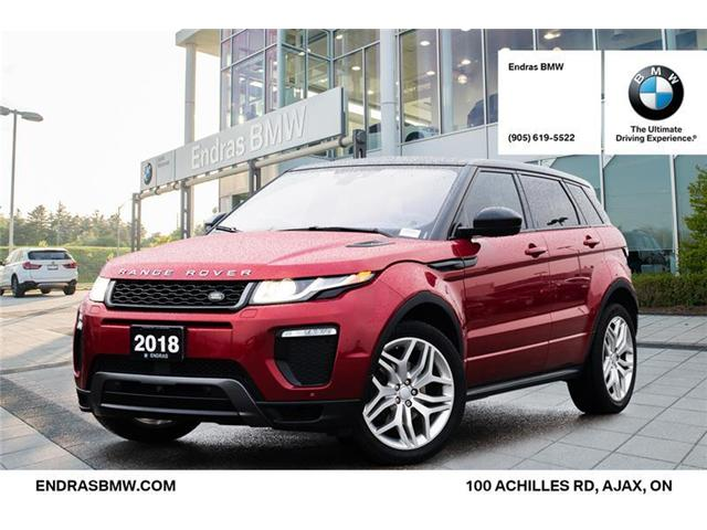2018 Land Rover Range Rover Evoque HSE DYNAMIC (Stk: 52224A) in Ajax - Image 1 of 22