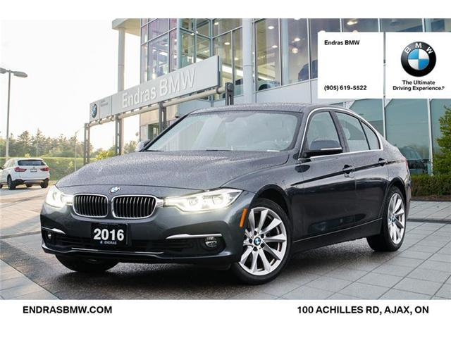2016 BMW 328i xDrive (Stk: P5693) in Ajax - Image 1 of 22