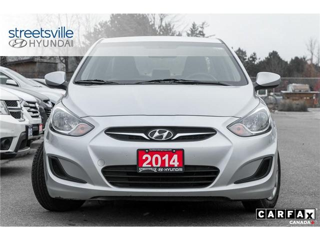 2014 Hyundai Accent  (Stk: P0616) in Mississauga - Image 2 of 17