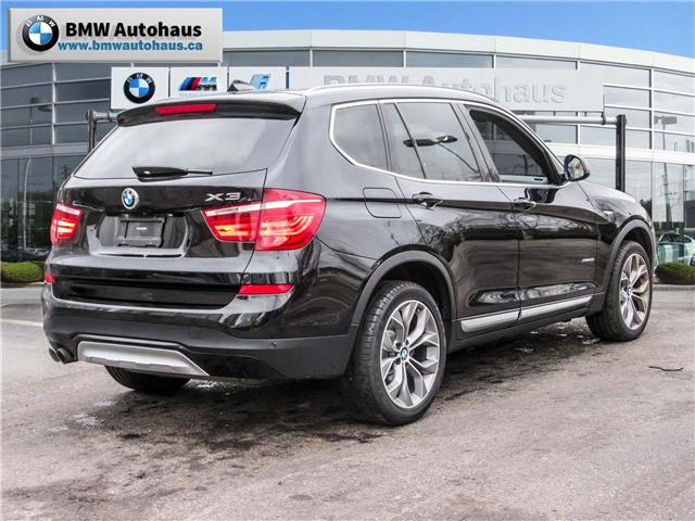 2015 BMW X3 xDrive28i (Stk: P8662) in Thornhill - Image 4 of 35