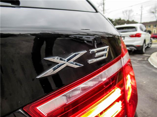 2015 BMW X3 xDrive28i (Stk: P8662) in Thornhill - Image 18 of 35