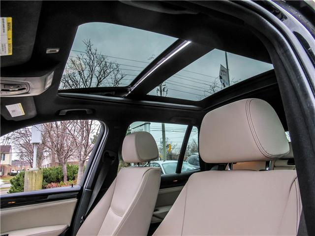 2015 BMW X3 xDrive28i (Stk: P8662) in Thornhill - Image 33 of 35