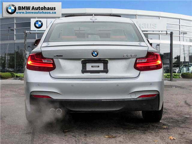 2015 BMW 228i xDrive (Stk: P8700) in Thornhill - Image 5 of 21