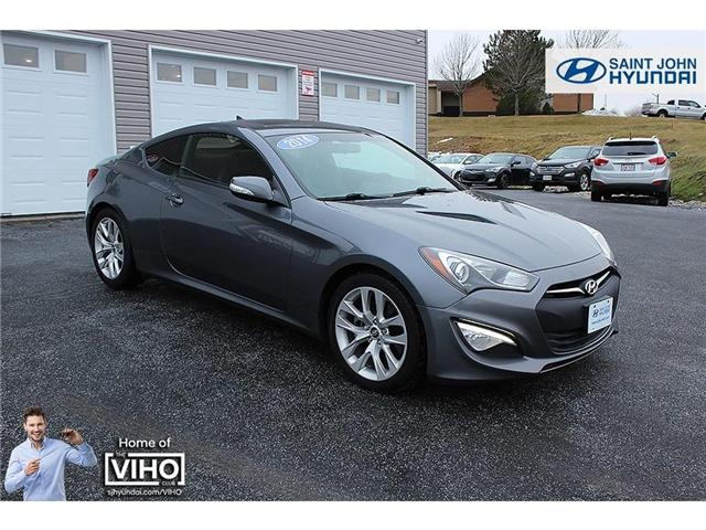 2014 Hyundai Genesis Coupe  (Stk: U1929) in Saint John - Image 1 of 19