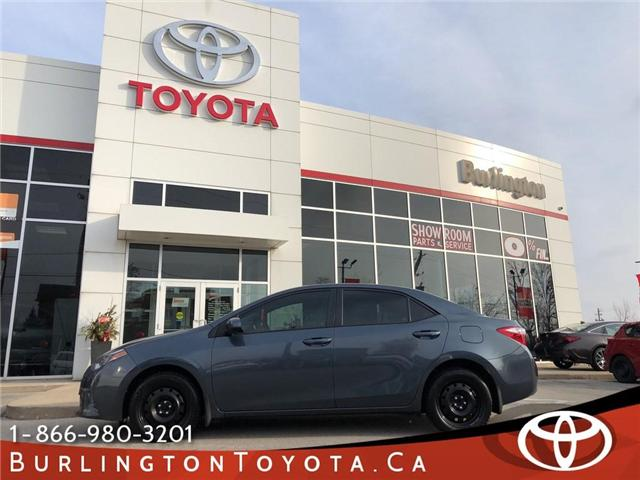 2016 Toyota Corolla  (Stk: U10495) in Burlington - Image 1 of 17