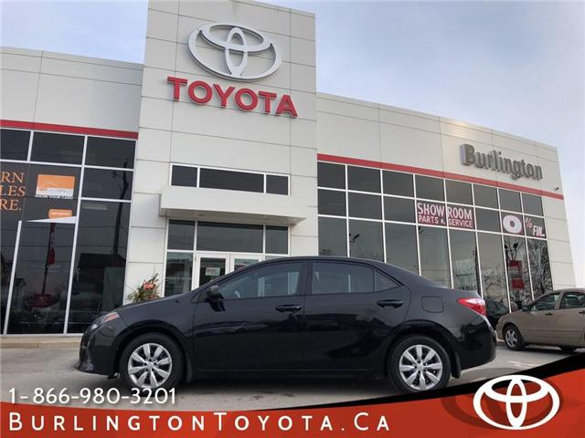 2015 Toyota Corolla  (Stk: U10485) in Burlington - Image 1 of 18