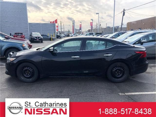 2016 Nissan Maxima Platinum (Stk: RG18134A) in St. Catharines - Image 1 of 5