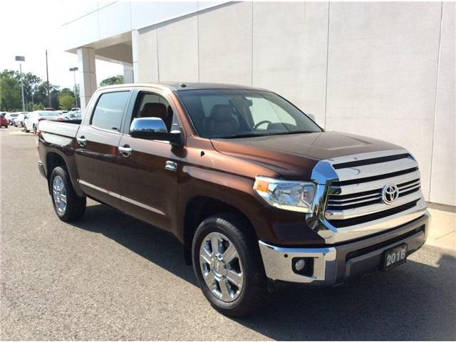2016 Toyota Tundra Platinum 5.7L V8 (Stk: p3255) in Welland - Image 1 of 25