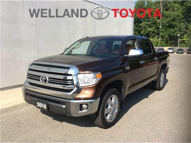 2016 Toyota Tundra Platinum 5.7L V8 (Stk: p3255) in Welland - Image 4 of 25