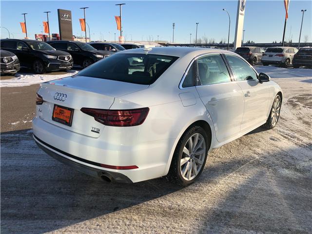 2018 Audi A4 2.0T Komfort (Stk: A3826) in Saskatoon - Image 5 of 22