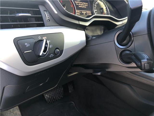 2018 Audi A4 2.0T Komfort (Stk: A3826) in Saskatoon - Image 10 of 22