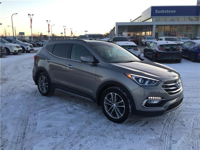 2017 Hyundai Santa Fe Sport 2.0T Limited (Stk: B7190) in Saskatoon - Image 1 of 28