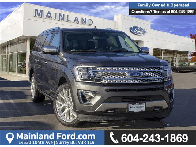 2018 Ford Expedition Max Platinum (Stk: P5295) in Surrey - Image 1 of 28