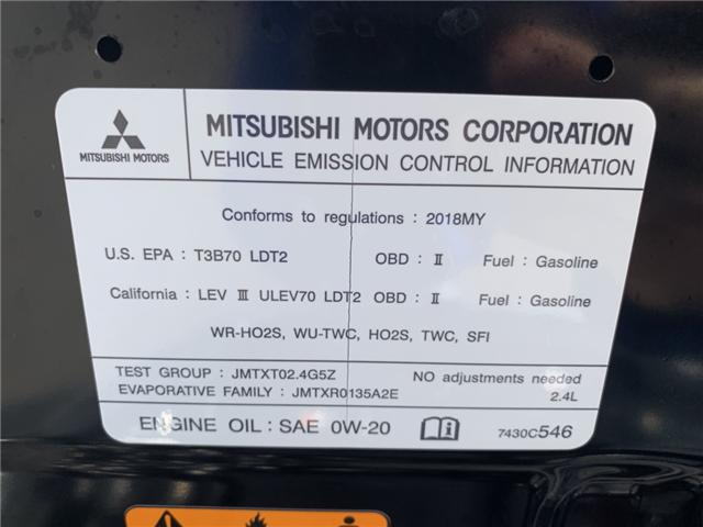2018 Mitsubishi Outlander ES (Stk: JZ612493) in Sarnia - Image 23 of 23