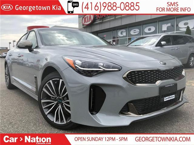 2019 Kia Stinger 2.0L TURBO GT-LINE | $257 BI WEEKLY | (Stk: SG19000) in Georgetown - Image 1 of 30