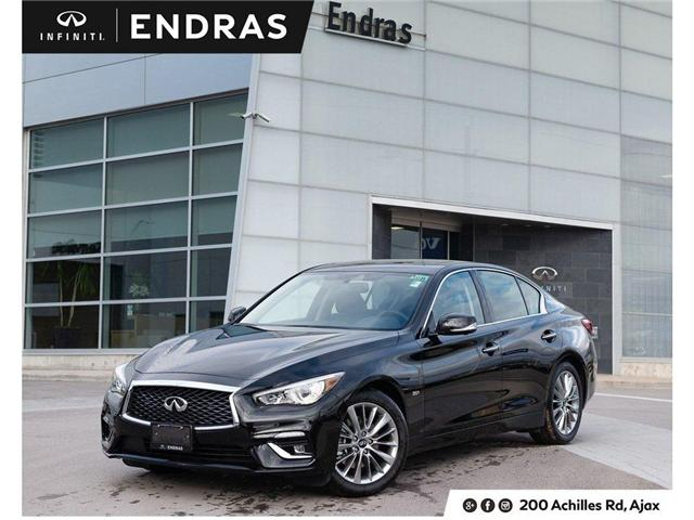 2019 Infiniti Q50 3.0t LUXE (Stk: 50536) in Ajax - Image 1 of 30