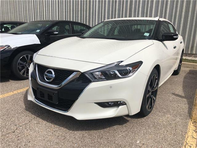 2018 Nissan Maxima SV (Stk: X3101) in Burlington - Image 1 of 5