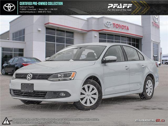 2014 Volkswagen Jetta Trendline plus 2.0 TDI 6sp DSG at w/ Tip (Stk: HU4516) in Orangeville - Image 1 of 27