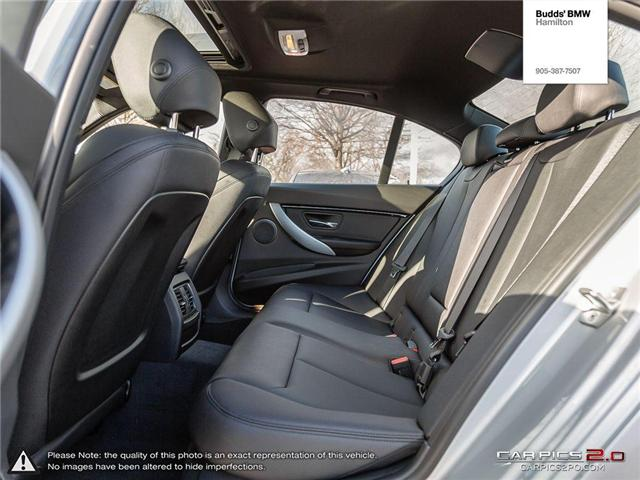 2018 BMW 330i xDrive (Stk: B77896) in Hamilton - Image 24 of 27