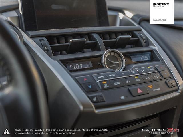 2016 Lexus NX 200t Base (Stk: T27381A) in Hamilton - Image 19 of 26
