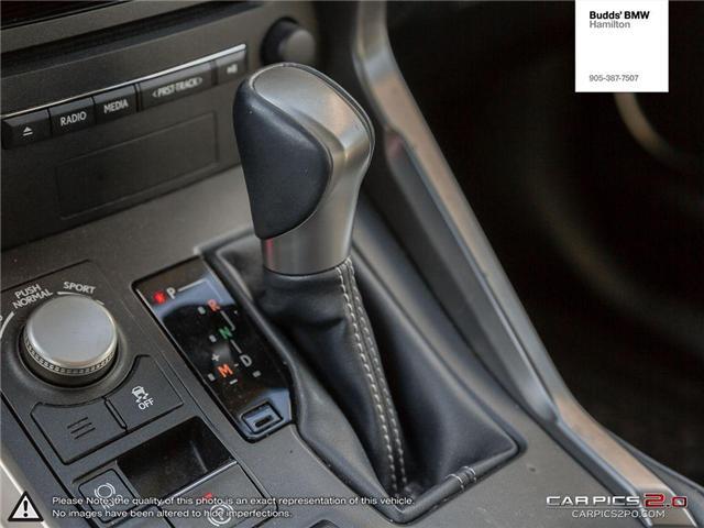 2016 Lexus NX 200t Base (Stk: T27381A) in Hamilton - Image 20 of 26