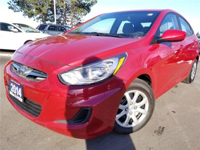 2014 Hyundai Accent GL-GREAT DEAL-CALL US NOW! (Stk: op9930) in Mississauga - Image 1 of 13