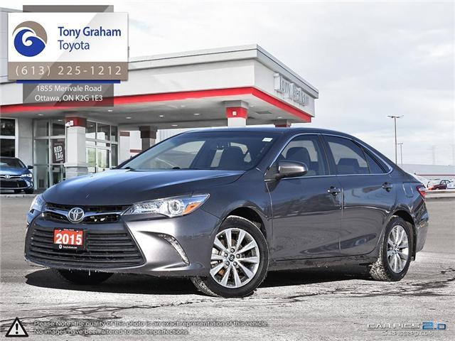 2015 Toyota Camry XLE (Stk: U9046) in Ottawa - Image 1 of 28