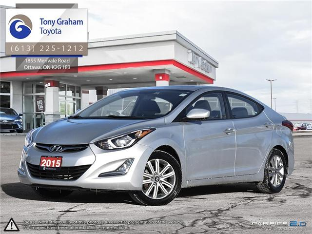 2015 Hyundai Elantra  (Stk: D11310A) in Ottawa - Image 1 of 27