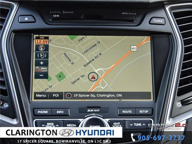 2015 Hyundai Santa Fe Sport 2.0T Limited (Stk: 18874A) in Clarington - Image 13 of 27