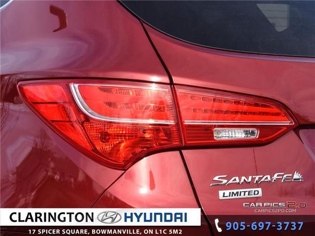 2015 Hyundai Santa Fe Sport 2.0T Limited (Stk: 18874A) in Clarington - Image 26 of 27