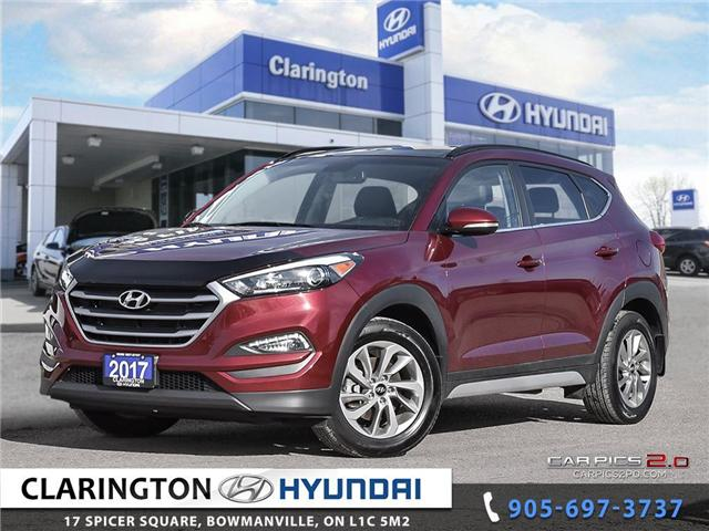 2017 Hyundai Tucson Luxury (Stk: U796) in Clarington - Image 1 of 27