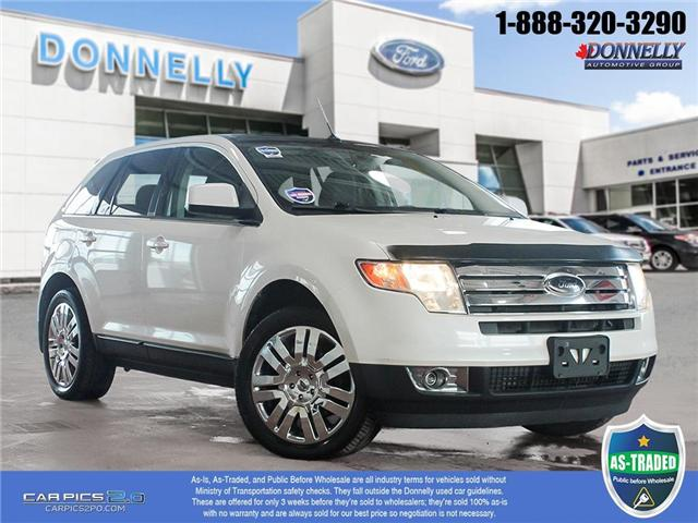 2010 Ford Edge Limited (Stk: PBWDU5749A) in Ottawa - Image 1 of 28