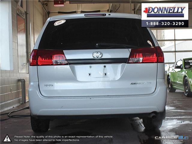 2004 Toyota Sienna  (Stk: PBWDS108B) in Ottawa - Image 5 of 28