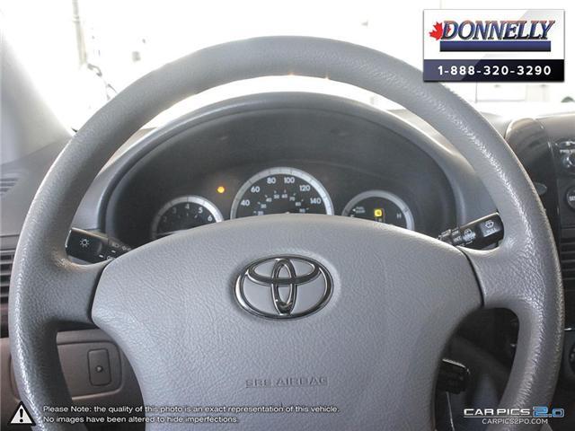 2004 Toyota Sienna  (Stk: PBWDS108B) in Ottawa - Image 14 of 28