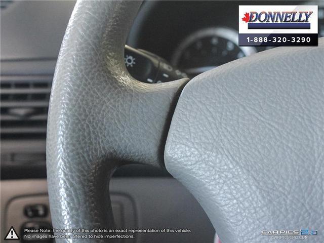 2004 Toyota Sienna  (Stk: PBWDS108B) in Ottawa - Image 18 of 28