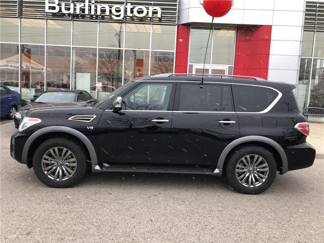2018 Nissan Armada Platinum (Stk: X4354) in Burlington - Image 2 of 22