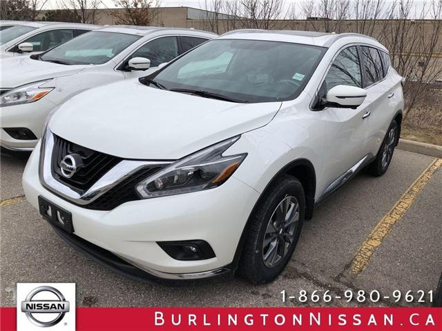 2018 Nissan Murano SL (Stk: X8720) in Burlington - Image 1 of 5