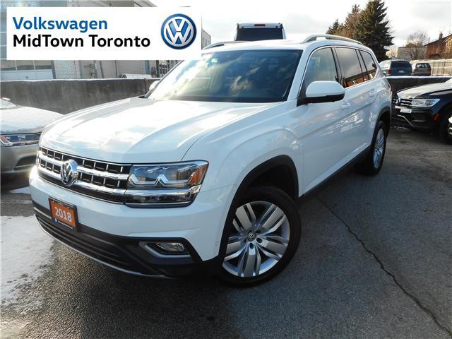 2018 Volkswagen Atlas 3.6 FSI Execline (Stk: V9655) in Toronto - Image 1 of 30
