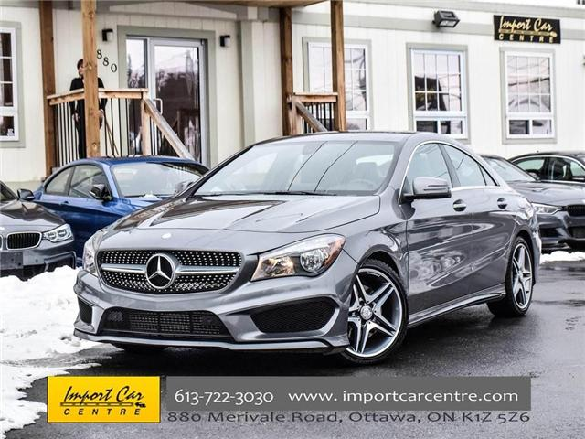 2016 Mercedes-Benz CLA-Class Base (Stk: 374689) in Ottawa - Image 1 of 24