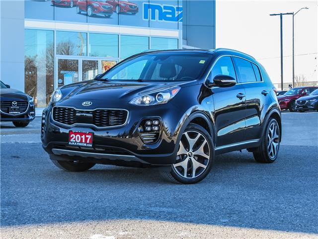 2017 Kia Sportage SX Turbo (Stk: P5004) in Ajax - Image 1 of 21