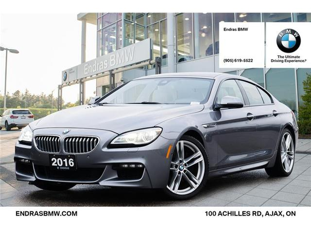 2016 BMW 650i xDrive Gran Coupe (Stk: P5681) in Ajax - Image 1 of 22