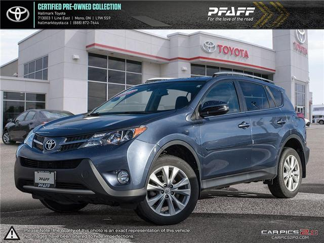2014 Toyota RAV4 AWD Limited (Stk: HU4519) in Orangeville - Image 1 of 26