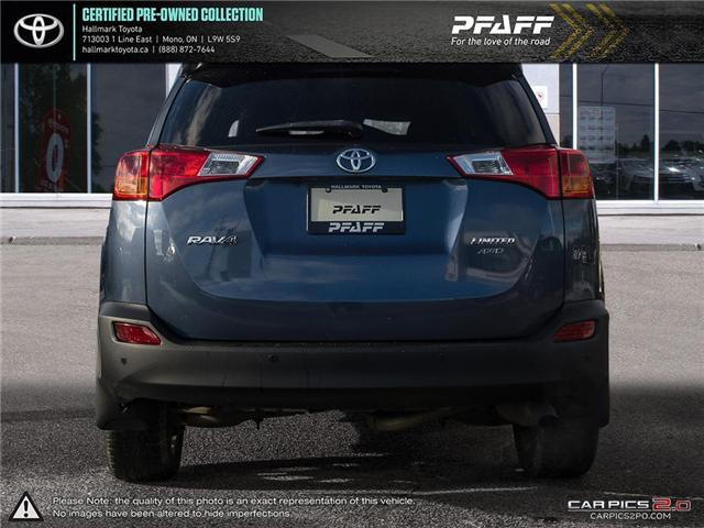 2014 Toyota RAV4 AWD Limited (Stk: HU4519) in Orangeville - Image 5 of 26