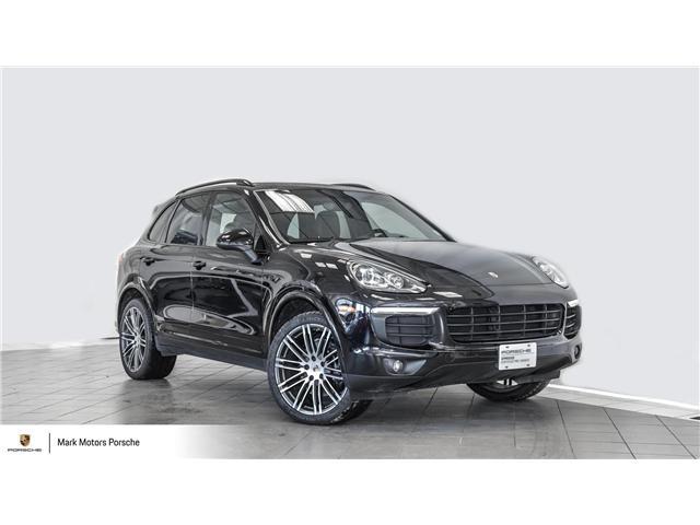 2018 Porsche Cayenne Platinum Edition (Stk: 62668A) in Ottawa - Image 1 of 27